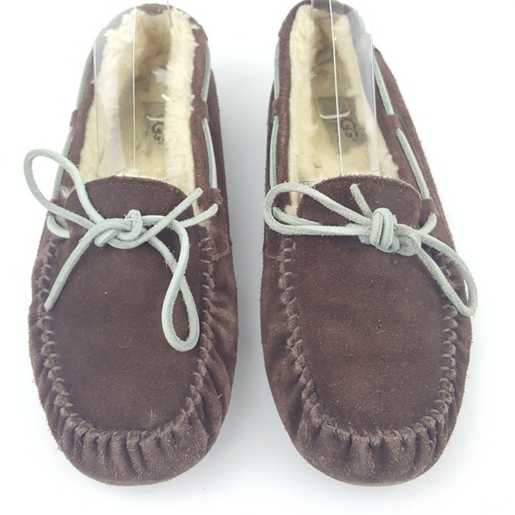 7b92a38c98a UGG Australia Dakota Women Slippers Dark Brown Sz9